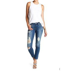 BLANKNYC The Reade Classic Skinny Distressed Jeans